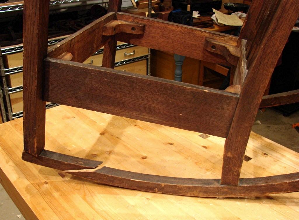 Dan's Shop: Rocking Chair Repair