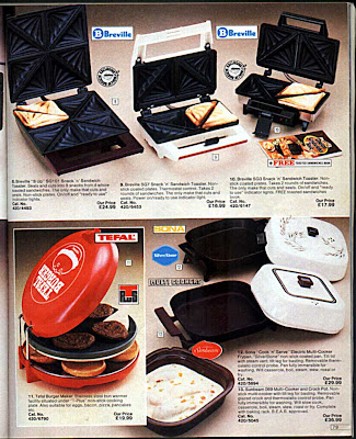 Argos Catalogue 1984 Kitchen Appliances