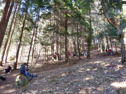 Il Giardino Sonoro 13 Candriai visita distruzione  lascolto del bosco