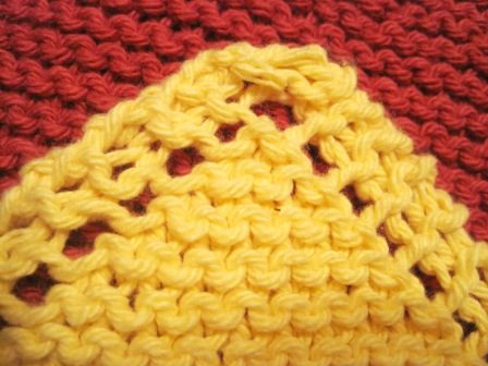 Sweet Bee Buzzings Knitting With Grandma Dishcloths
