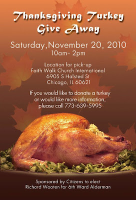 MORTIN IL TURKEY GIVEAWAY