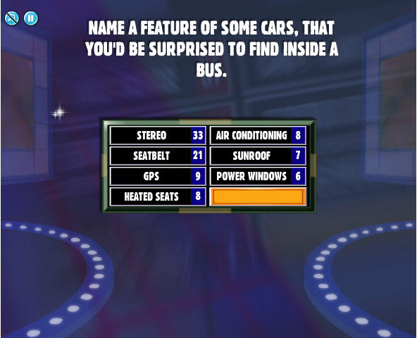 Facebook Family Feud Cheats: Name A Feature Of Some Cars