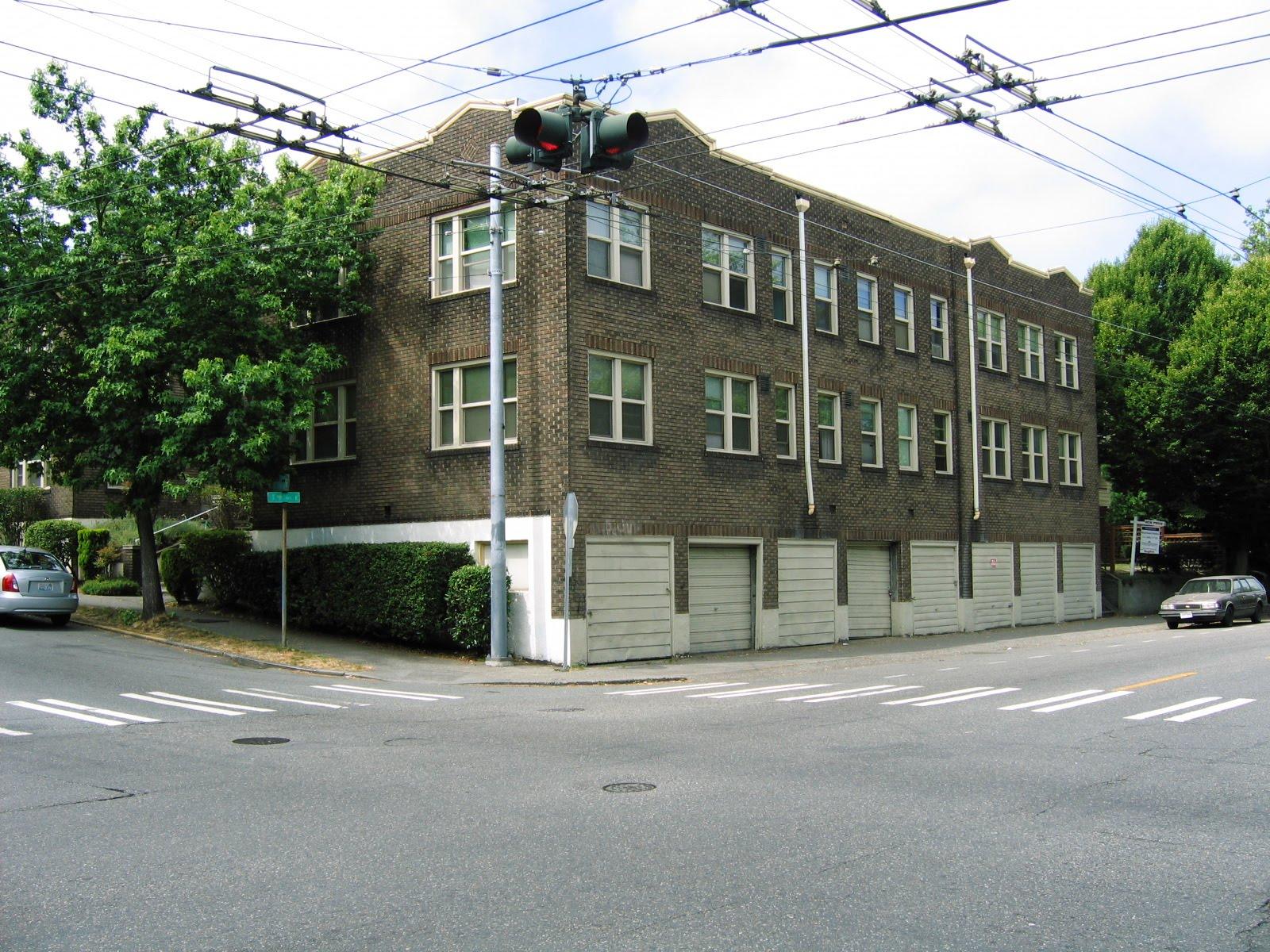 Front Of Building Around The Corner
