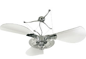 Condo Blues Ceiling Fans With Lights Energy Efficient