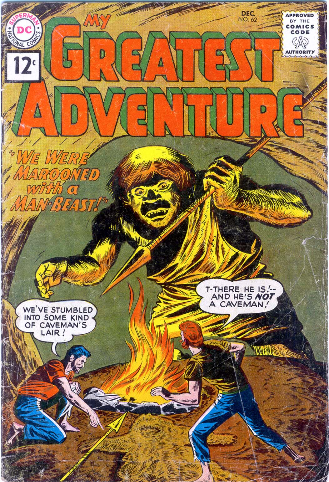 My Greatest Adventure (1955) issue 62 - Page 1
