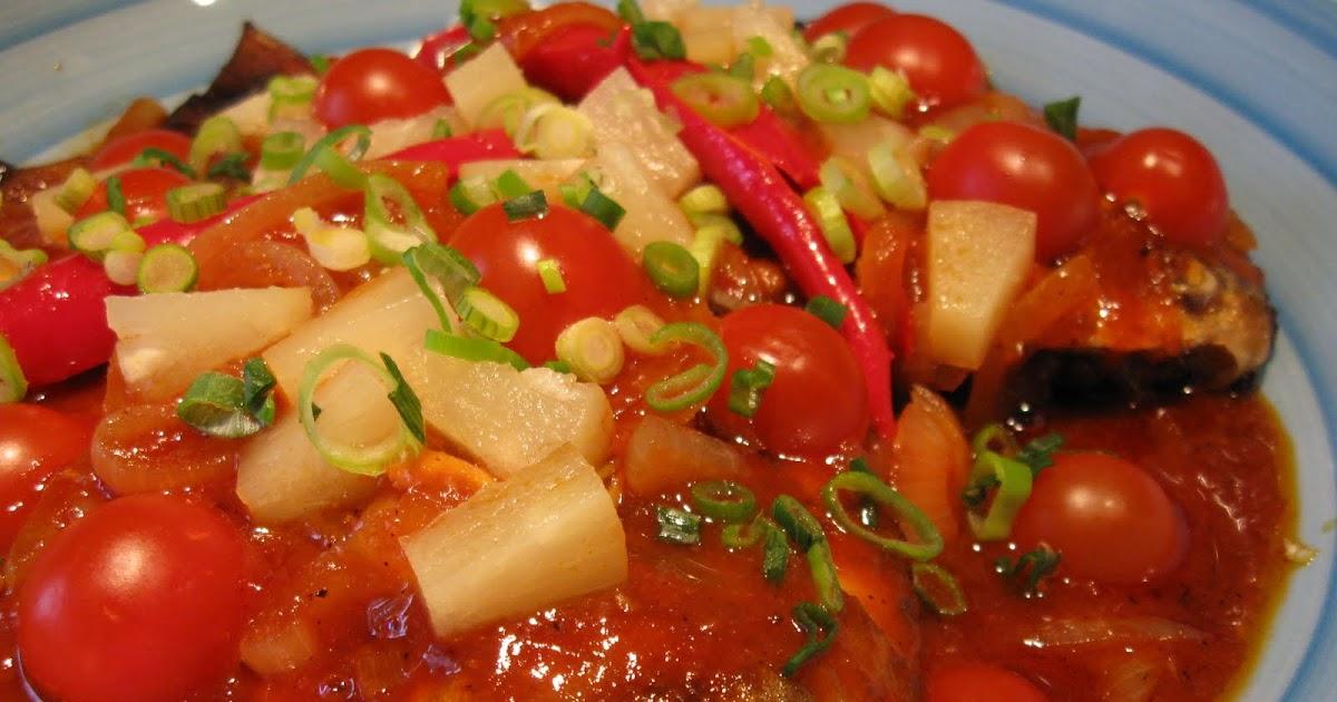 resepi ikan bawal berkuah buku resep Resepi Ikan Cermin Sweet Sour Enak dan Mudah