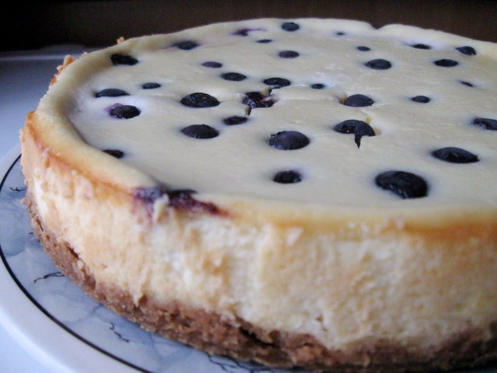 Resepi Blueberry Cheesecake Bars