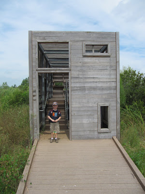 trinity river audubon center bird blind