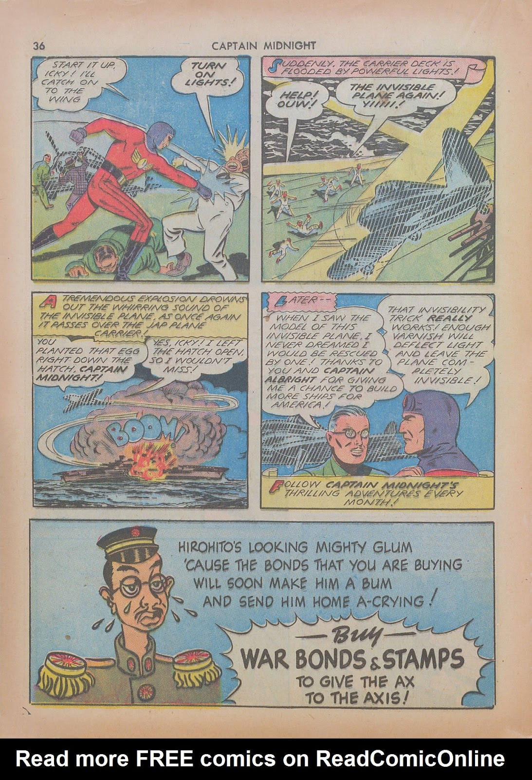 Captain Midnight (1942) issue 7 - Page 36