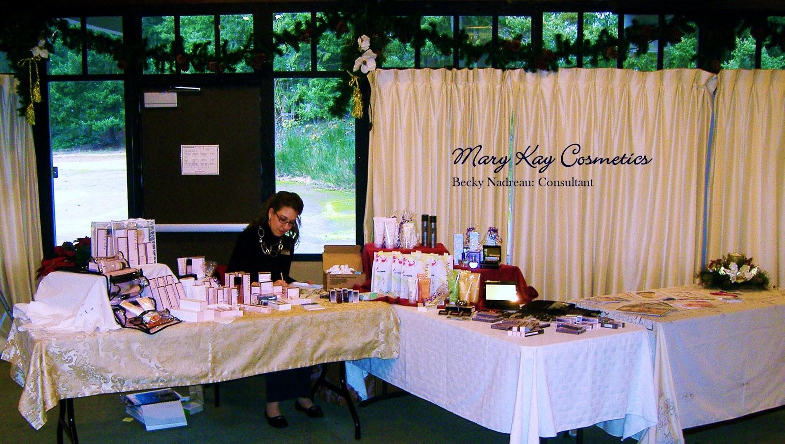 Mary Kay Table Display Ideas