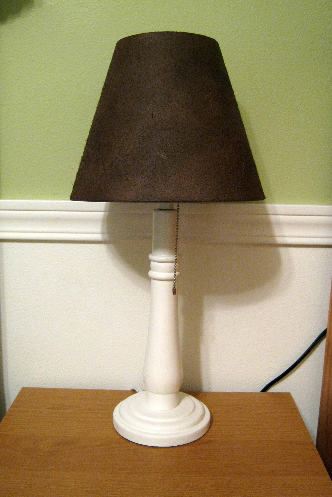 This Thrifty House: Spray Painted Lamp Shades
