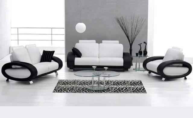 Furniture Interior Black And White Design