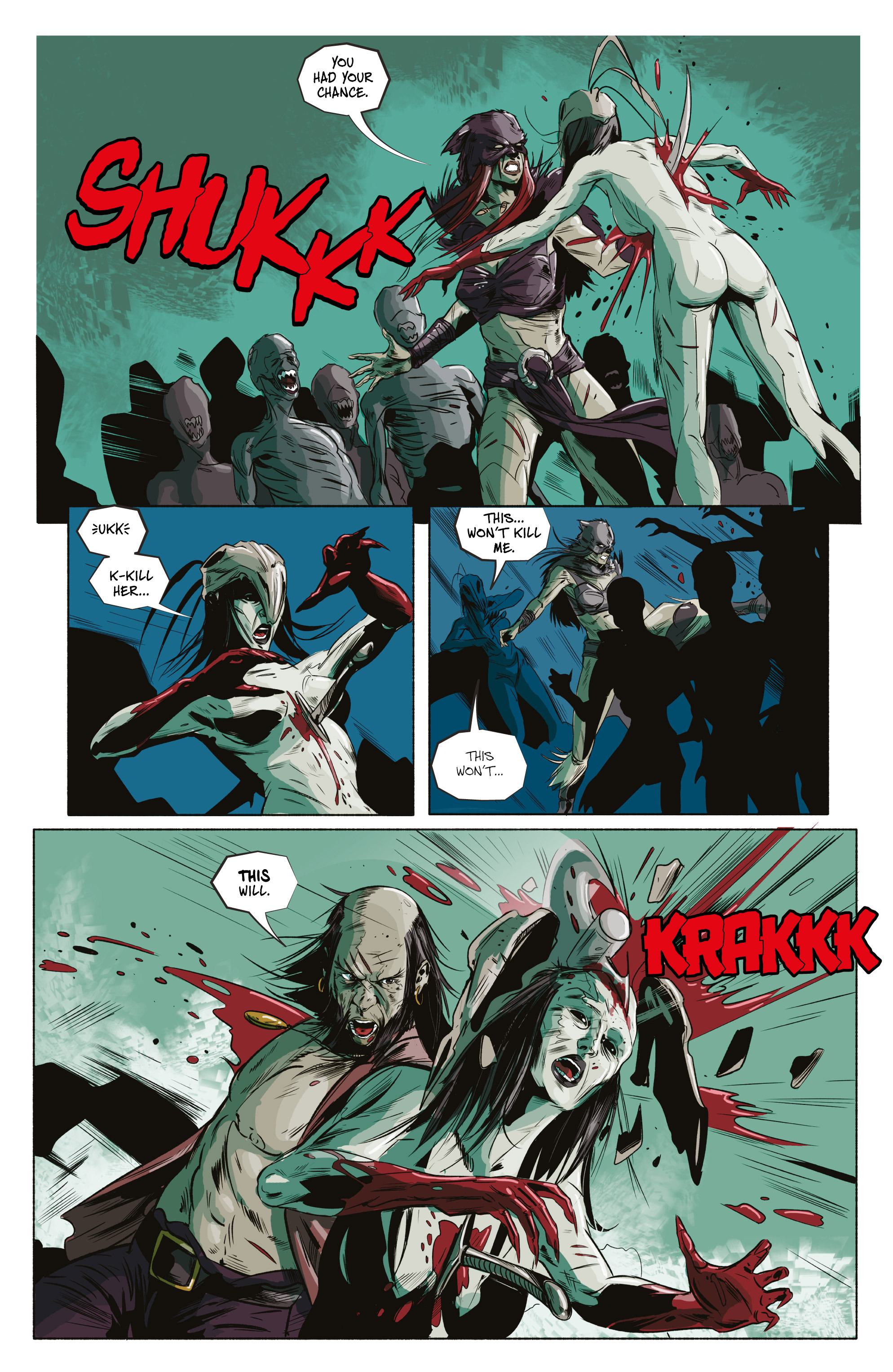 Read online Ghost Wolf comic -  Issue #4 - 24