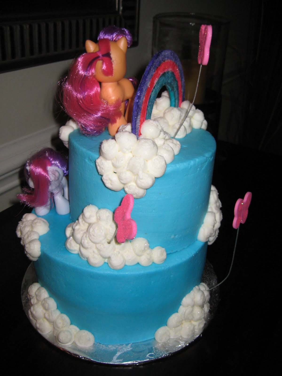 FOr THe LOvE OF CakE My Little Pony Birthday Cake