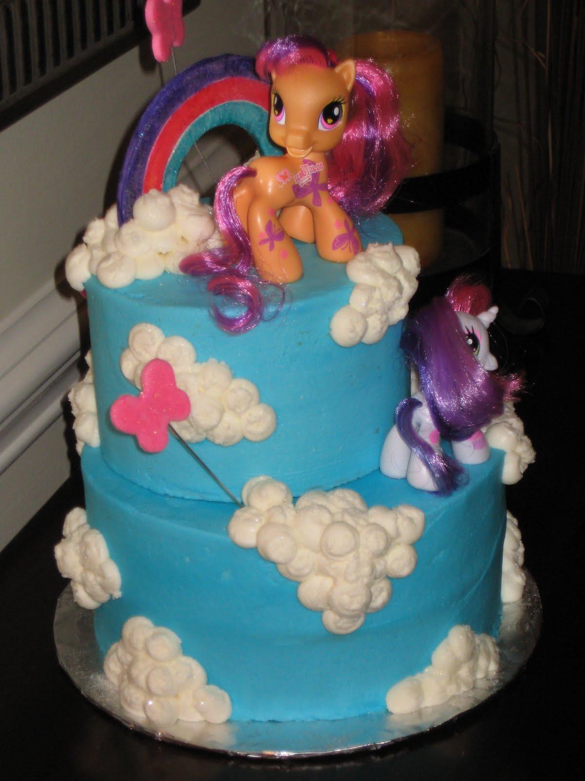 My Little Pony Birthday Cake Ideas And Designs