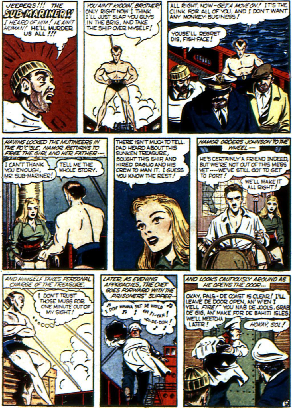 Read online All-Winners Comics comic -  Issue #3 - 51