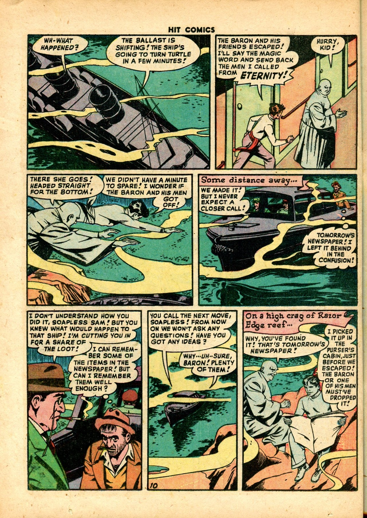 Read online Hit Comics comic -  Issue #59 - 12