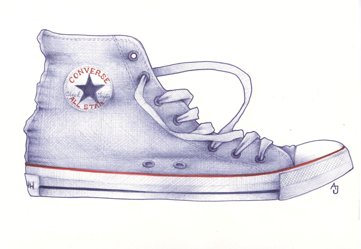 andrea joseph's sketchblog: how to draw a shoe