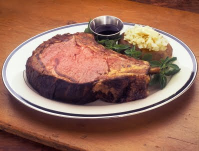 rib of beef we are one of the few country clubs that serves prime rib