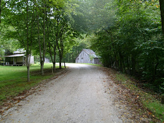 Gravel roads of the Blue Ridge Mountains