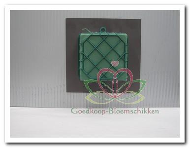 Fabulous Goedkoop-bloemschikken.nl: Bloemstuk op trouwauto maken &YW06