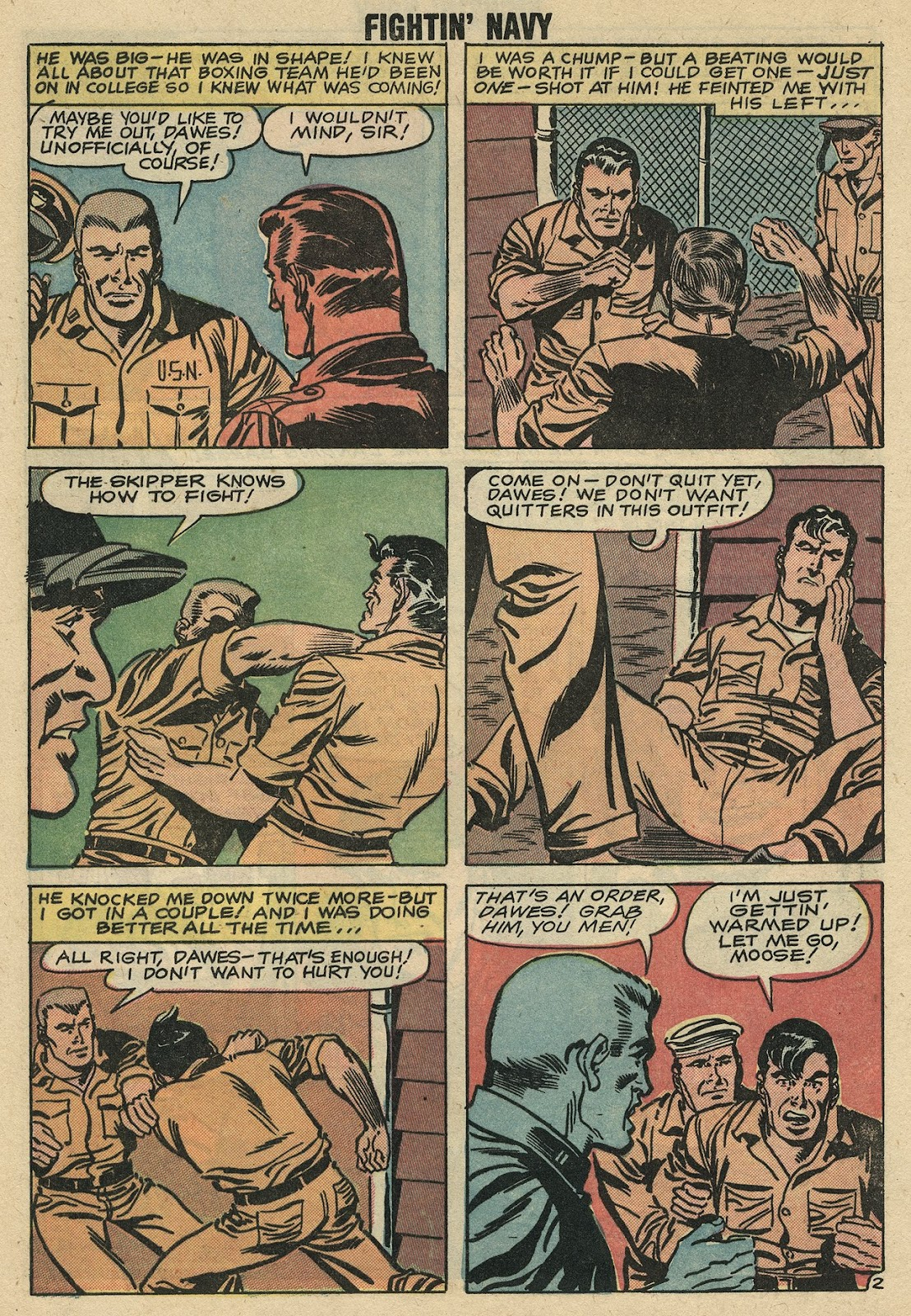 Read online Fightin' Navy comic -  Issue #86 - 28