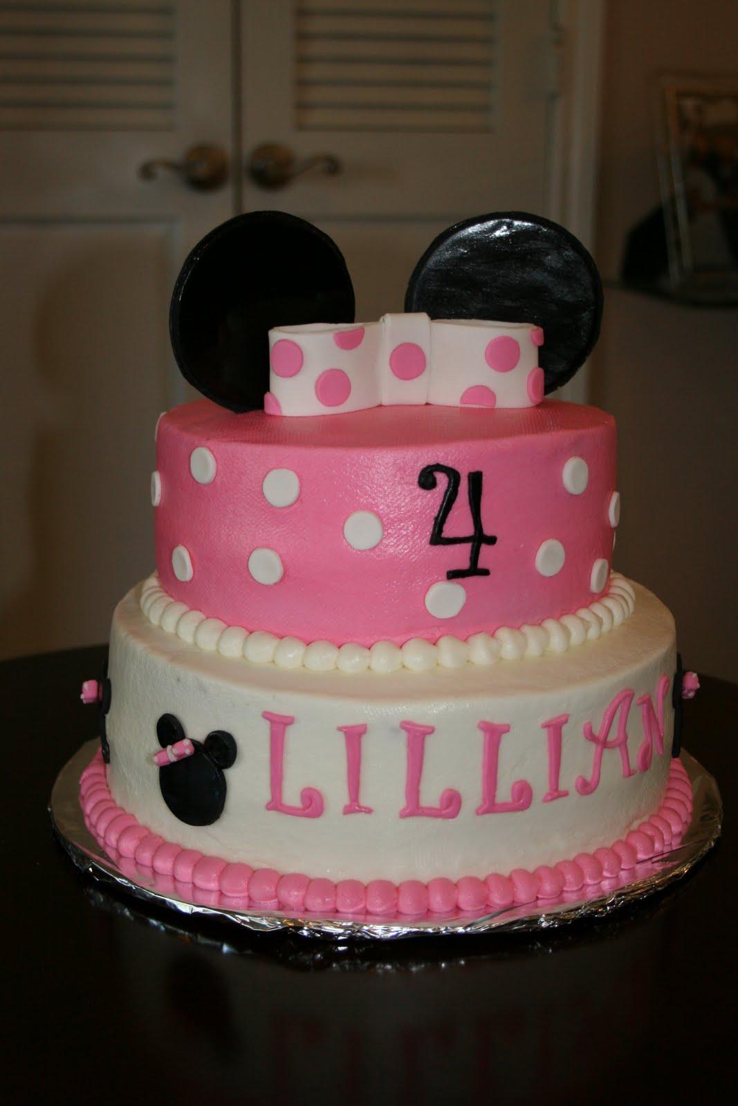 Rachel S Creative Cakes Minnie Mouse Cake