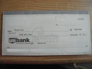 us bank check example