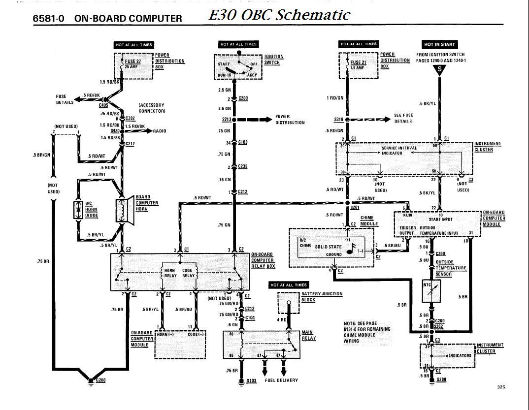 Bmw e30 13 button OBC Fuel pump connector?  Bimmerfest