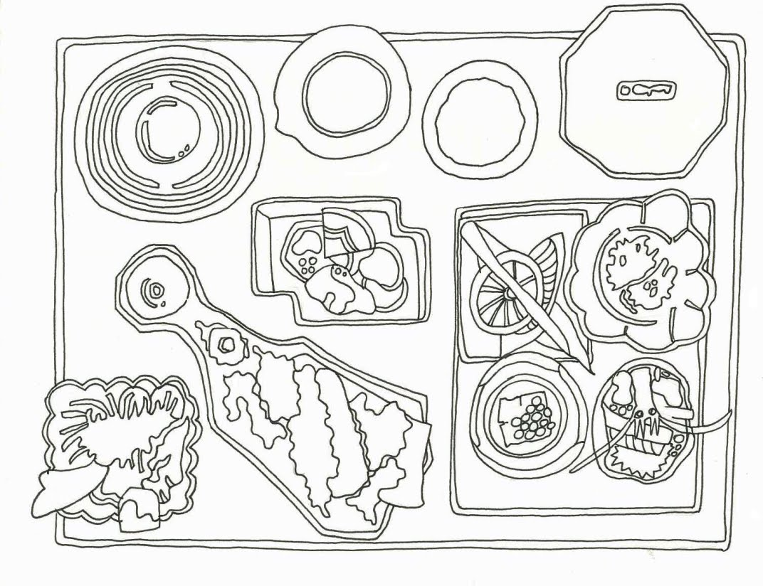 A Drawing A Day Bento Box B
