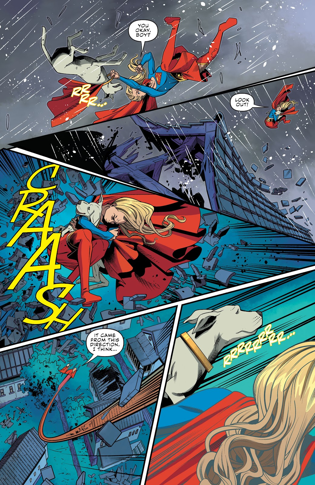 Read online Supergirl (2016) comic -  Issue #41 - 10