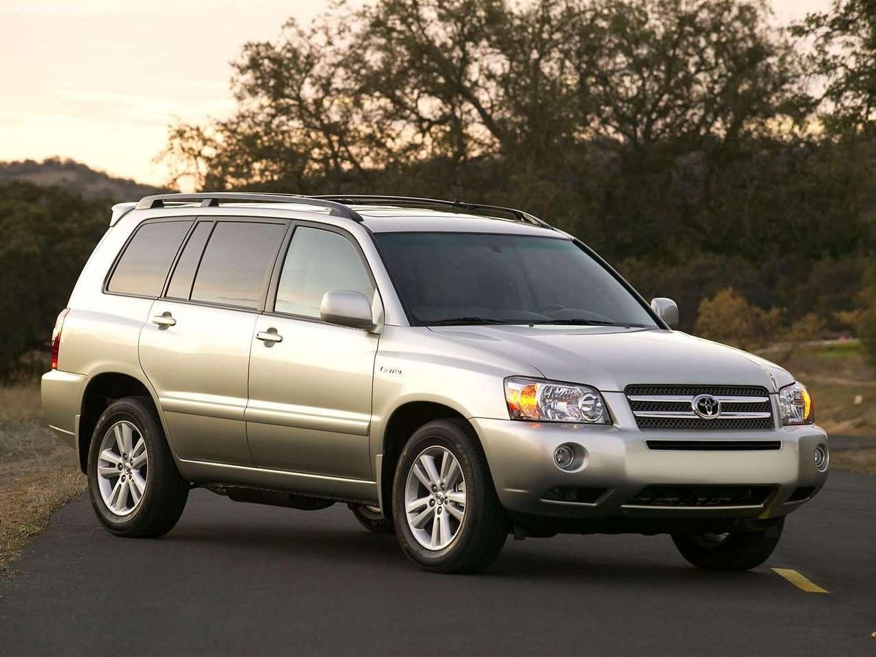 2005 Toyota Highlander Hybrid Toyota Autos Spain