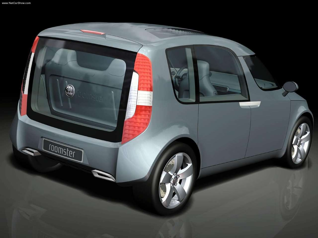 2003 skoda roomster concept skoda cars. Black Bedroom Furniture Sets. Home Design Ideas
