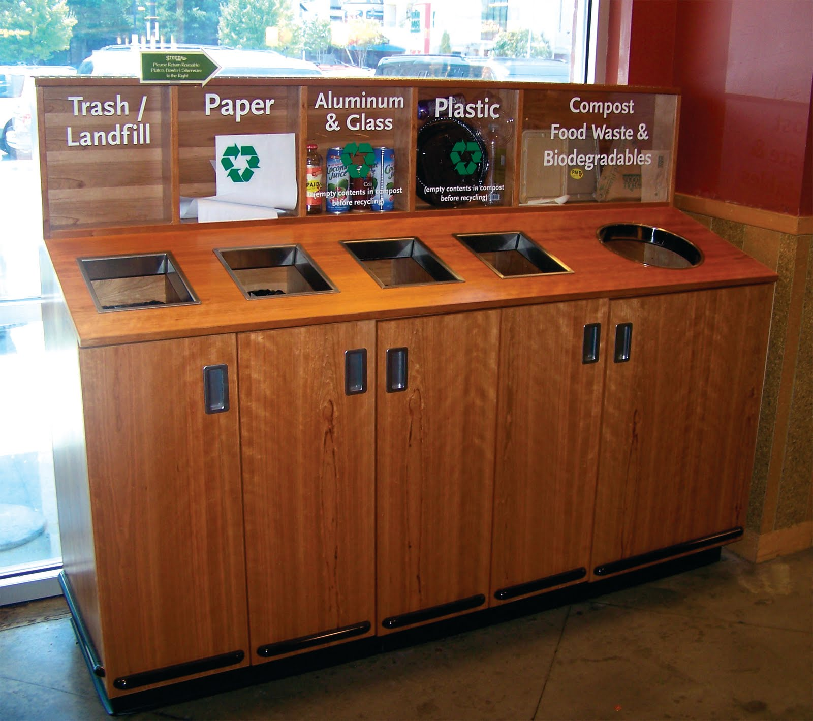 Whole Foods Glass Recycling