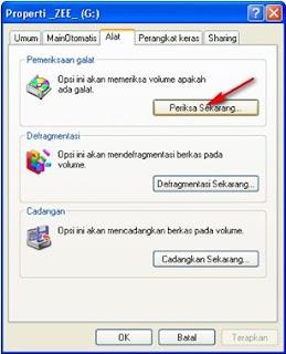 Memperbaiki/ mengembalikan File yang rusak di Flashdisk dengan Software seadanya.