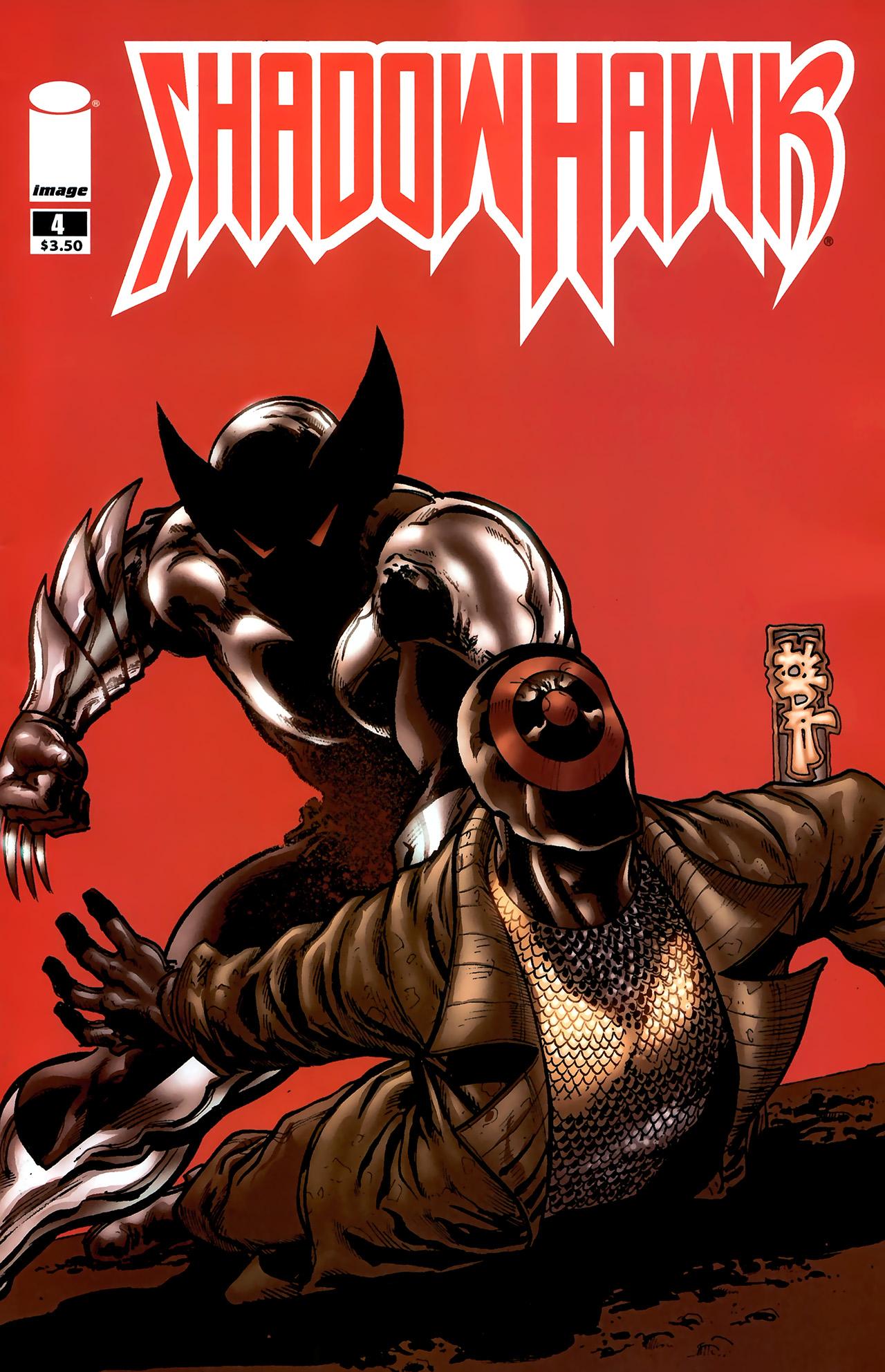 Read online ShadowHawk (2010) comic -  Issue #4 - 1