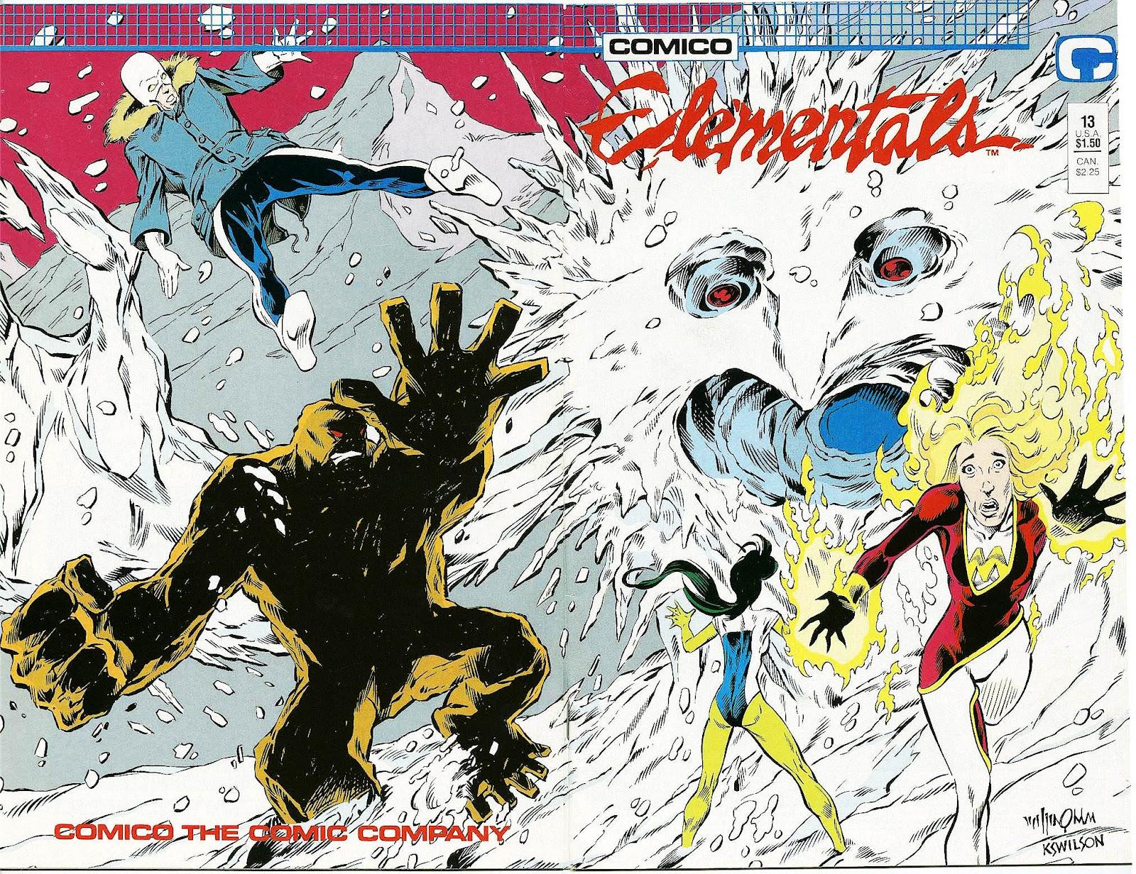 Elementals (1984) issue 13 - Page 1