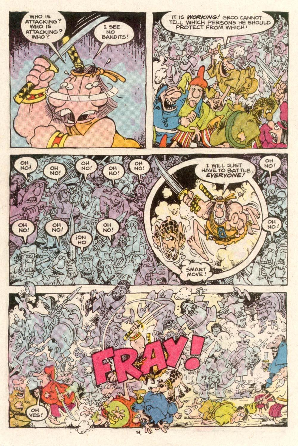 Read online Sergio Aragonés Groo the Wanderer comic -  Issue #49 - 14