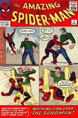 Amazing Spider-Man #4, first appearance and origin the sandman, flint Marko