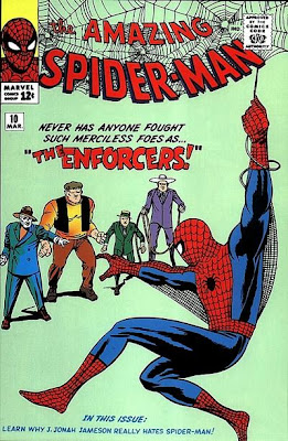 Amazing Spider-Man #10, Our hero squares up to the Enforcers first appearance