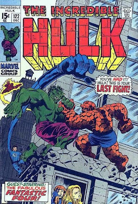 Incredible Hulk #122, the Fantastic Four