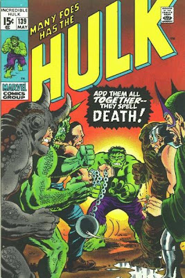 Incredible Hulk #139, Many foes has the Hulk...