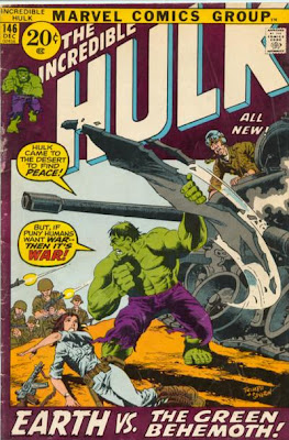 Incredible Hulk #146, the Leader goes Invasion of the Body Snatchers