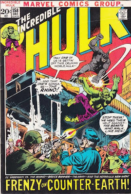 Incredible Hulk #158, The Rhino on Counter-Earth