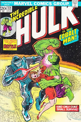 Incredible Hulk #174, the Cobalt Man Down Under