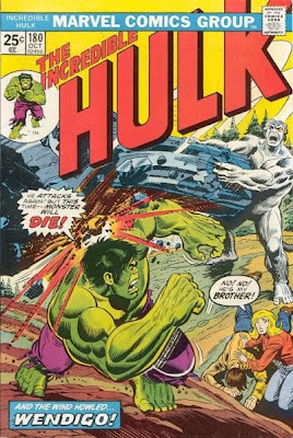 Incredible Hulk #180, first ever Wolverine, Wendigo, Herb Trimpe