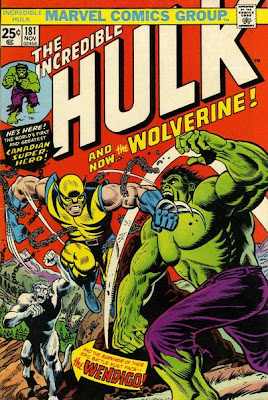 Incredible Hulk #181 Wolverine and the Wendigo Herb Trimpe