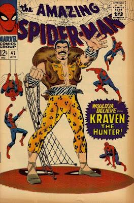 Amazing Spider-Man #47, Kraven vs Norman Osborn, John Romita