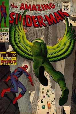 Amazing Spider-Man #48, the Vulture Number 2, John Romita
