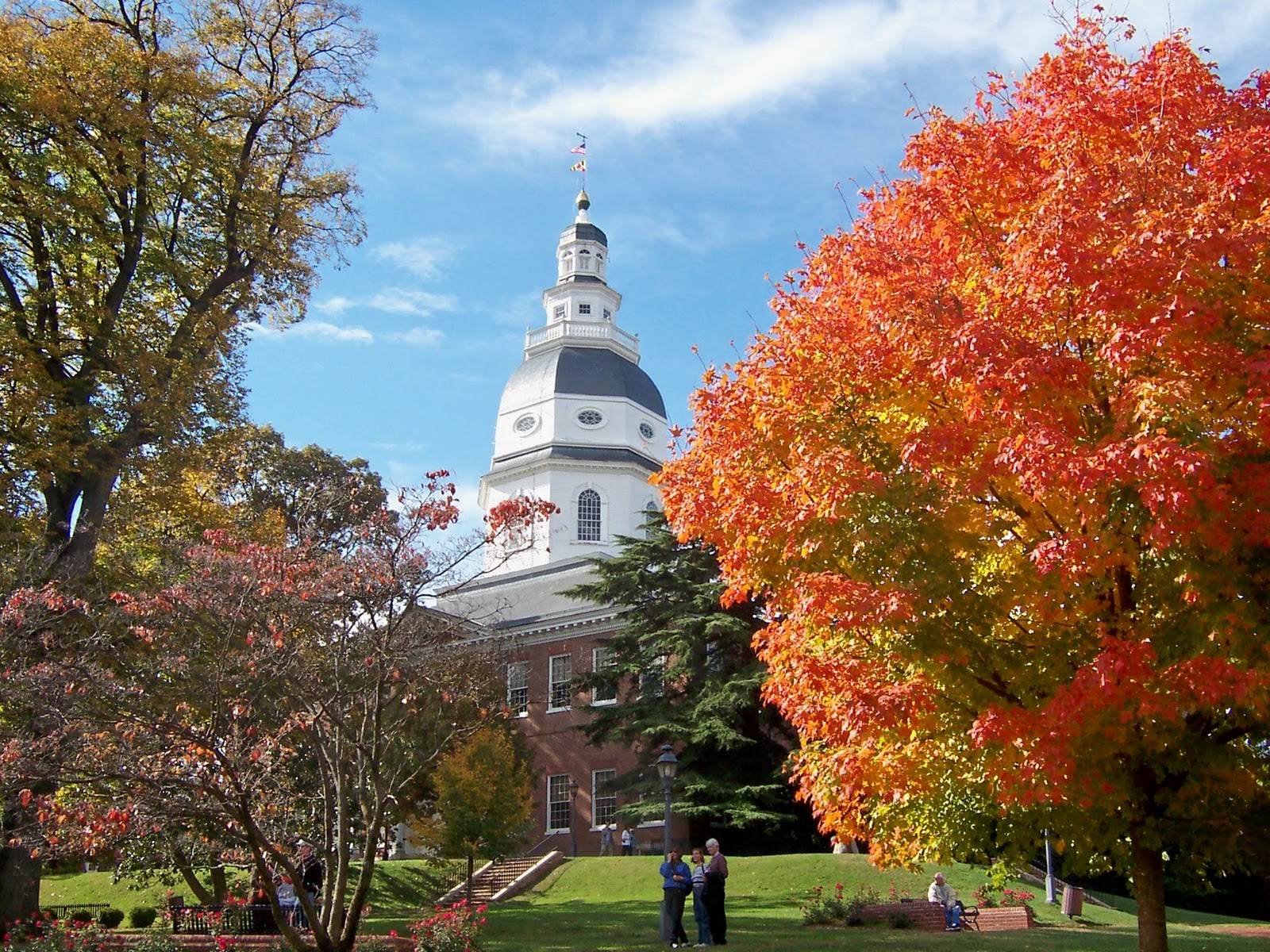 Fall Foliage Wallpaper Hd Via My Viewfinder Autumn In Annapolis